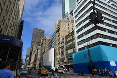 Cinquième avenue, Manhattan, New York City Images stock