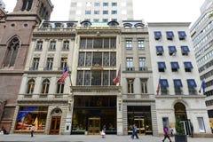 Cinquième avenue, Manhattan, New York City Images libres de droits