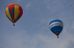 Cinquième ballon international Festi de la Chine (Langfang) Photo libre de droits