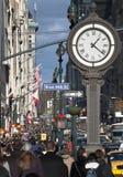Cinquième foule d'avenue Photographie stock libre de droits