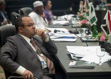 Cinquième sommet extraordinaire d'OIC sur la Palestine Al Quds Al Sharif-Ja Photographie stock libre de droits