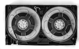 Cinta abierta de VHS de la cinta de video imágenes de archivo libres de regalías