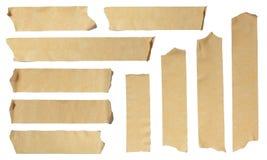 Cinta adhesiva rasgada Foto de archivo libre de regalías