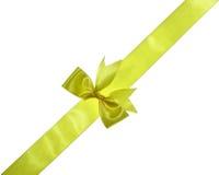 Cinta amarilla Imagen de archivo libre de regalías