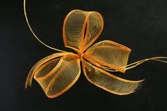 Cinta amarilla y anaranjada Imagen de archivo