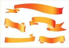 Cinta anaranjada Fotografía de archivo