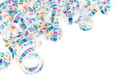 Cinta colorida de la celebración imagen de archivo libre de regalías