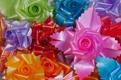 Cinta colorida del arco Fotografía de archivo