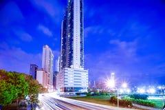 Cinta costera 3 Panama Obrazy Stock