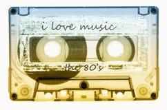 Cinta de casete Imagen de archivo libre de regalías