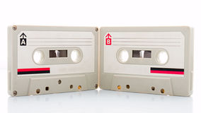 Cinta de casete audio Fotos de archivo libres de regalías
