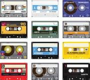 Cinta de casete del vintage Foto de archivo libre de regalías