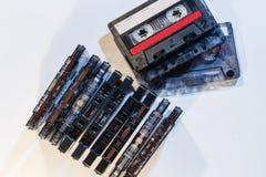 Cinta de casetes Foto de archivo libre de regalías
