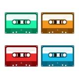 Cinta de cassette audio Foto de archivo libre de regalías