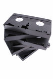 Cinta de cassette del Vhs Fotos de archivo