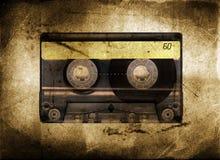 Cinta de cassette sucia Imágenes de archivo libres de regalías
