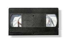 Cinta de cinta de video en blanco del vhs Fotos de archivo libres de regalías