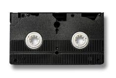 Cinta de cinta de video en blanco del vhs Fotos de archivo