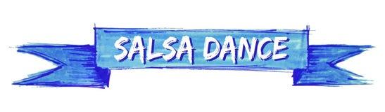 cinta de la danza de la salsa libre illustration