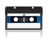 Cinta de la música aislada Imagen de archivo libre de regalías