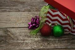 Cinta de la Navidad Imagenes de archivo