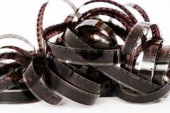 cinta de la película de 8m m Imagen de archivo libre de regalías