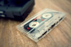 Cinta de la vendimia Imagenes de archivo