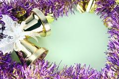 Cinta de las decoraciones por la Navidad y el Año Nuevo. Imagen de archivo