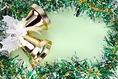 Cinta de las decoraciones por la Navidad y el Año Nuevo. Fotografía de archivo