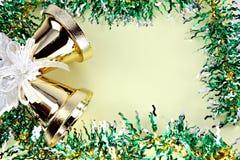 Cinta de las decoraciones por la Navidad y el Año Nuevo. Fotos de archivo libres de regalías