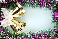 Cinta de las decoraciones por la Navidad y el Año Nuevo. Foto de archivo