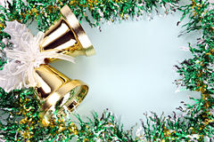 Cinta de las decoraciones por la Navidad y el Año Nuevo. Imágenes de archivo libres de regalías