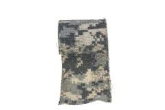 Cinta de las texturas de los militares de Camo imagen de archivo libre de regalías