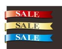 Cinta de las ventas Fotografía de archivo libre de regalías