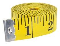 Cinta de medición 1 Foto de archivo libre de regalías