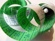 Cinta de medición Imagen de archivo libre de regalías