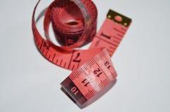 Cinta de medición Foto de archivo