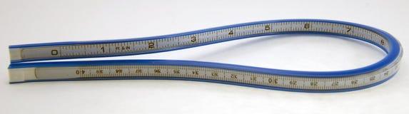 Cinta de medición flexible Imagen de archivo