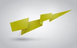 Cinta de Origami Fotografía de archivo libre de regalías