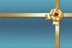 Cinta de oro Fotografía de archivo libre de regalías