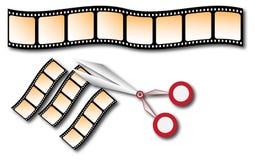 Cinta de película Imágenes de archivo libres de regalías