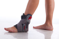Cinta de tornozelo Imagem de Stock