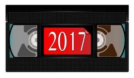 Cinta de video 2017 Imagen de archivo