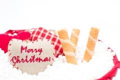 Cinta decorativa de la Navidad Imagen de archivo libre de regalías