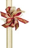 Cinta del acebo de la Navidad Imagenes de archivo