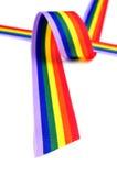Cinta del arco iris Imágenes de archivo libres de regalías