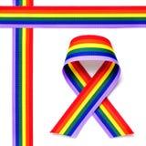Cinta del arco iris Foto de archivo