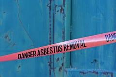 Cinta del asbesto Imágenes de archivo libres de regalías