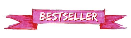 cinta del bestseller ilustración del vector