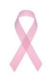 Cinta del conocimiento del cáncer de pecho Fotografía de archivo libre de regalías